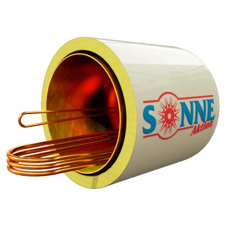Sonne Μπόιλερ Ηλιακού 160L Χάλκινο